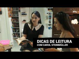 Ela lê em média 4 livros por semana | TAG de livros com Carol Steinmüller